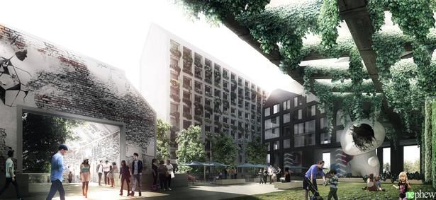 S.WIEMER+Nephew - Badel Block Masterplan, Zagreb