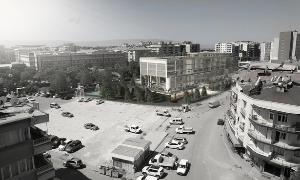 Efeler Municipality Service Building 2, Aydin, Turkey