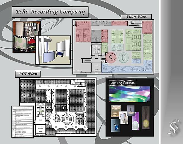 Executive Recording Company Floor Plan