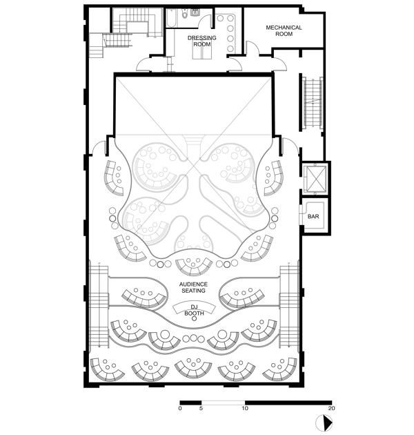 Second Floor Plan.