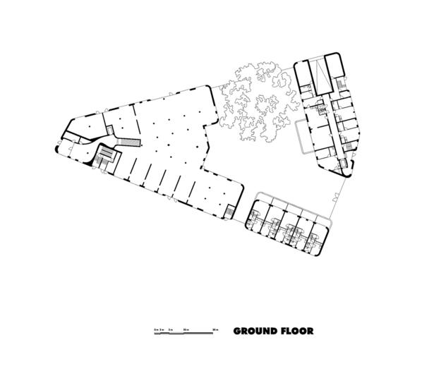 Claus en Kaan Architecten / Ground Floor plan