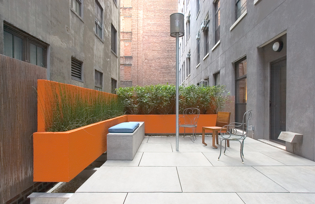 CHELSEA ROOF TERRACE – Sitting area