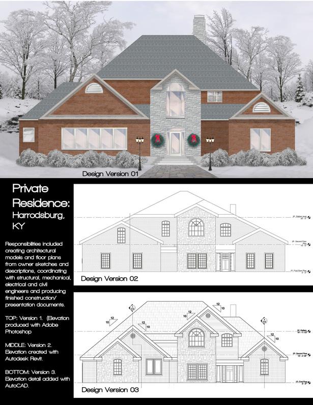 Portfolio Page- Private Residence, Harrodsburg KY