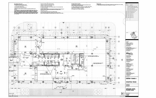 First /floor Plan - Sample drawing