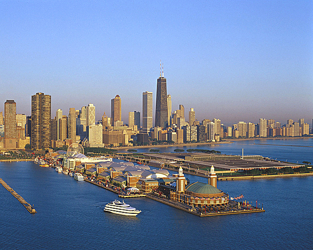 Navy Pier Aerial View