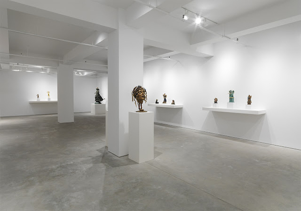 Sculpture Installation / Gary Snyder Gallery