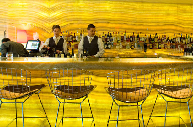 bar at Marea Restro