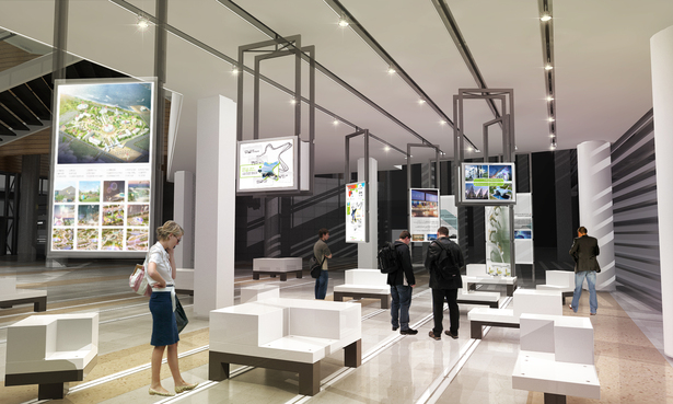The Design For Incheon Urban Planing Exhibition Hall