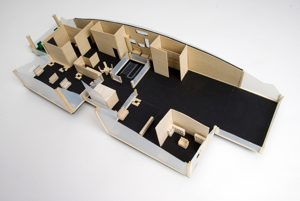 3D-Model of the Second Floor of OCHH