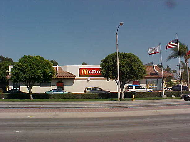 Irwindale McDonald's - Before Generic McDonald's Facade