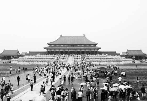 Tiananmen Square, Beijing China