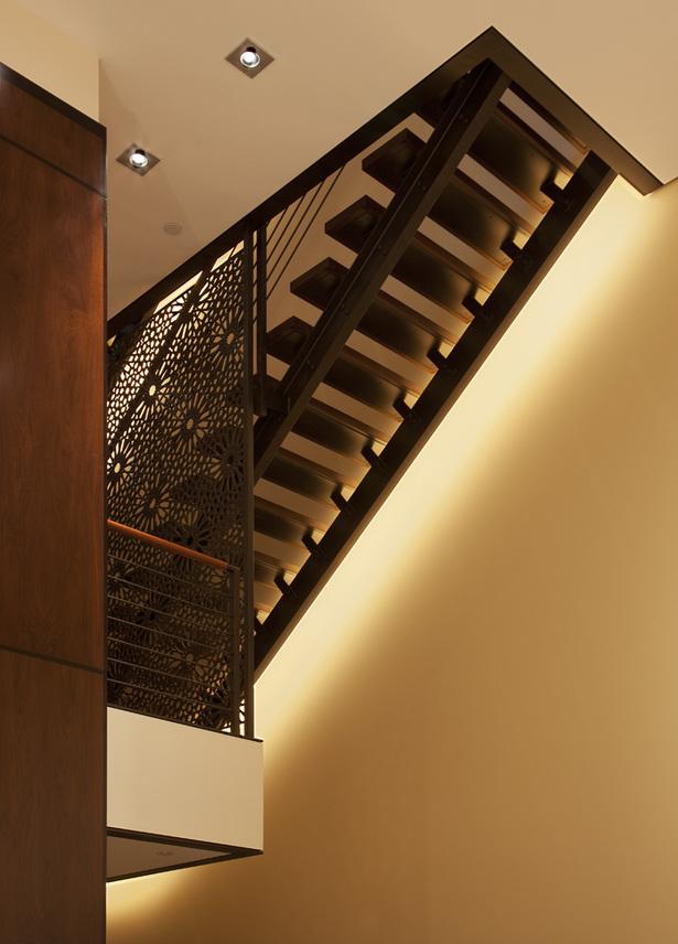 stair & mezzanine detail