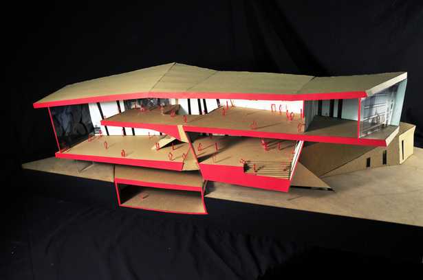 Physical section model
