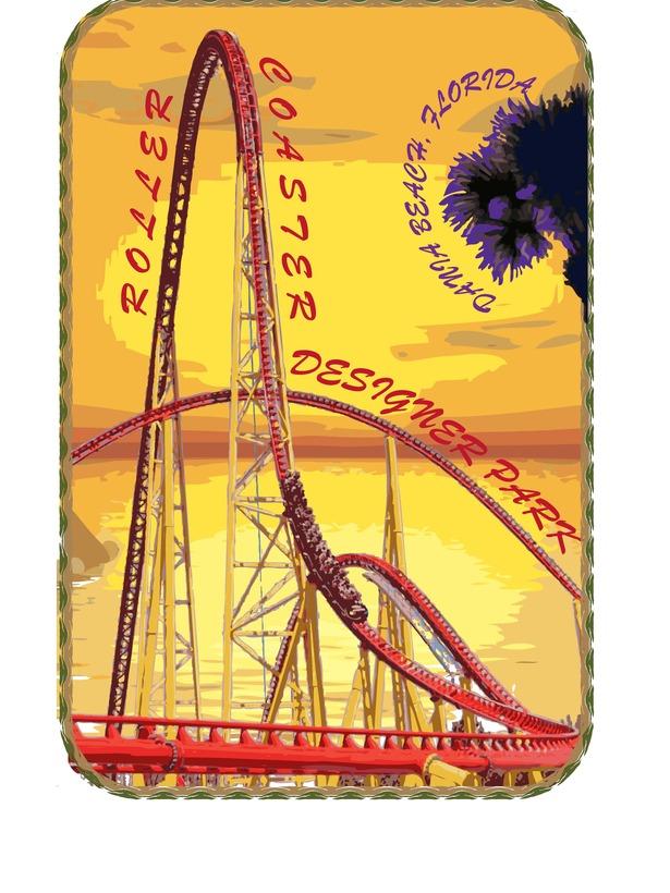 InDesign Logo: Designer Roller Coaster Park