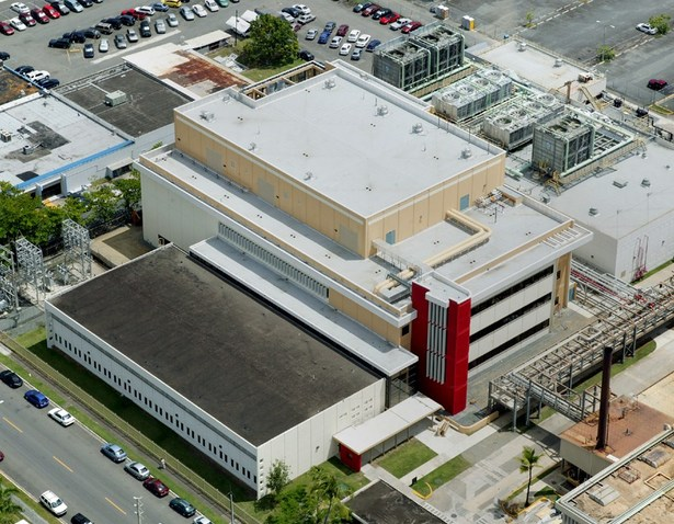 Bird's eye view of the laboratory