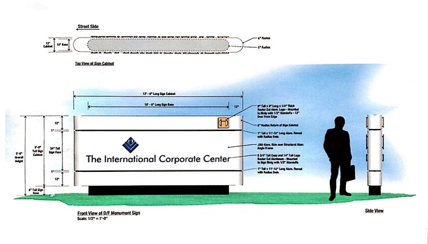 THE INTERNATIONAL CORPORATE CENTER - Signage