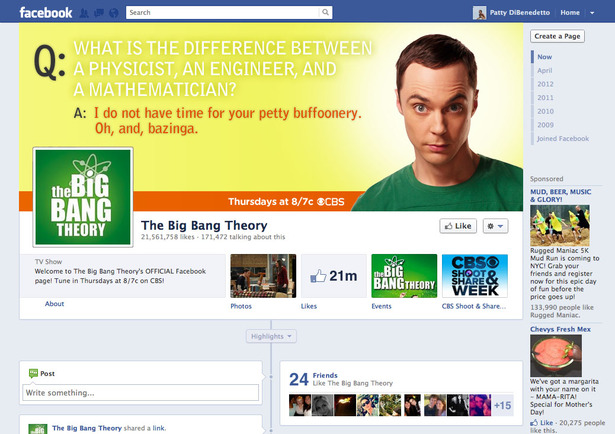 Big Bang Theory Cover Mockup