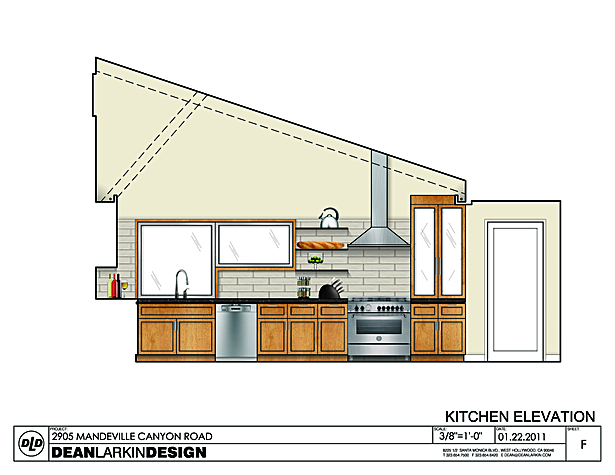 Kitchen - elevation