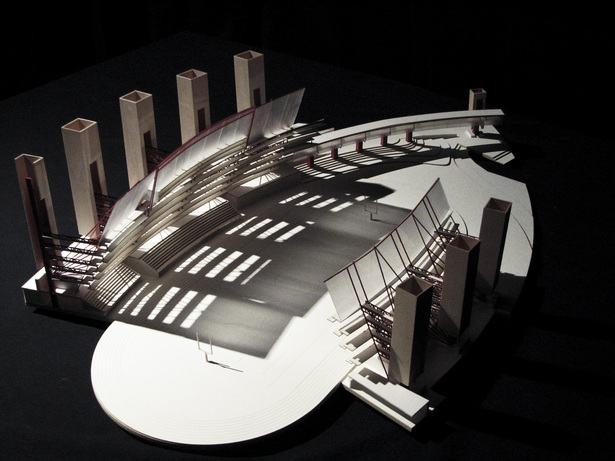 Inverted Stadium. Study Model. Second Iteration