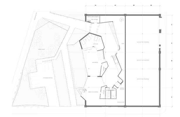 First floor and site plan