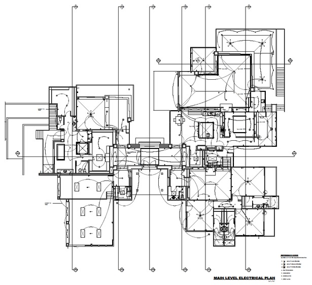 Main Level Electrical Plan