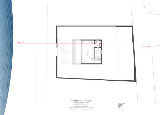 K01 BASEMENT FLOOR PLAN