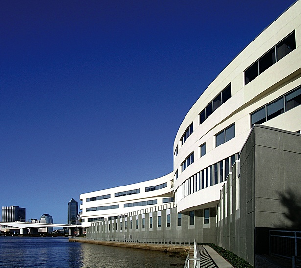 Patient Rooms facing the St. John's River