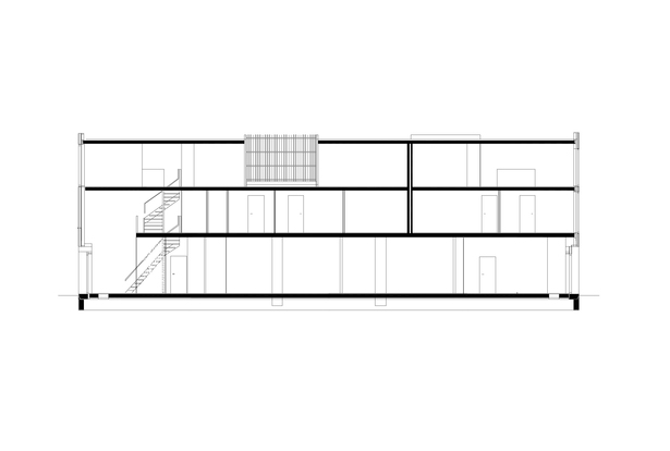 Claus en Kaan Architecten / Section - type 2