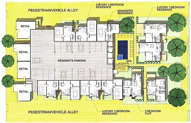 Ground Floor Plan (1st)