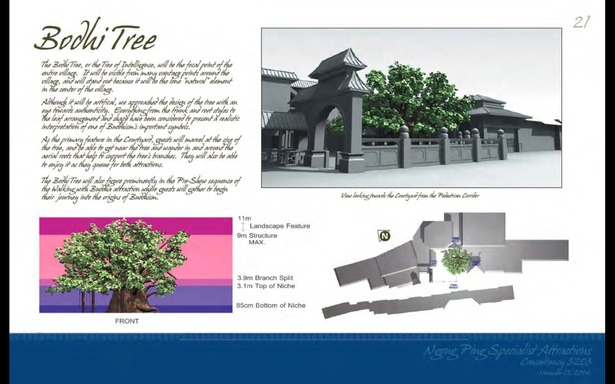 Schematic Design - Bodhi Tree