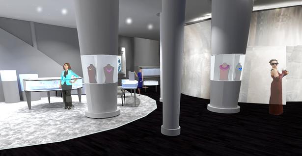 Alexandra Mor Retail Floor