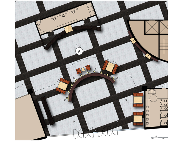 Meiji Lobby Floor Plan