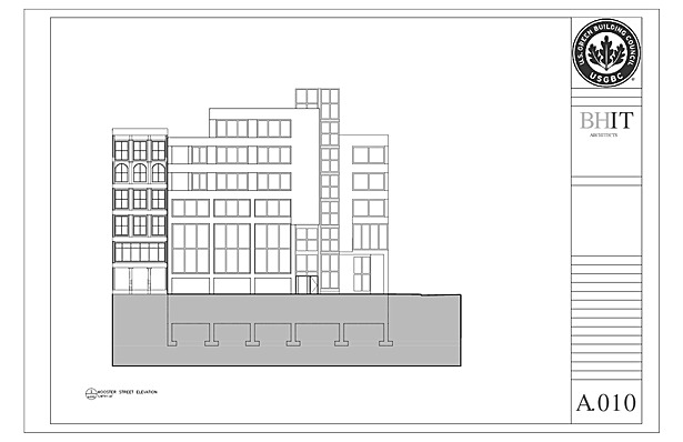 Wooster Street Elevation