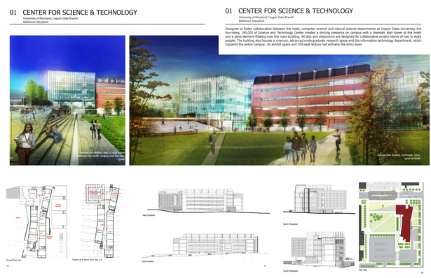 Science & Technology Building University of MarylandBalitmore, MD ​​ 55,000 SF Higher Education Building Project Team - RDrury while at Cannon Design