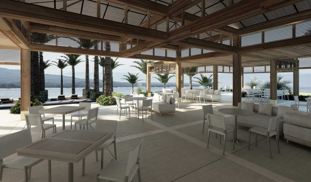 Propossed Interior Area for the Beach Club