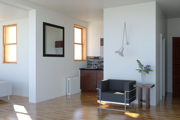 Renovated Apartment Interior