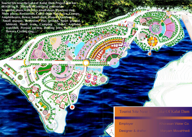 Kalat Dam Beautification - Park design