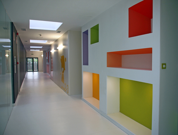 Nursery School in Curtis, A Coruña (Spain) NAOS ARCHITECTURE