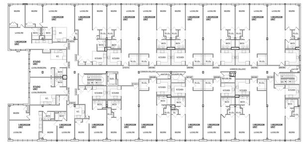 Layout of Typical Apartment Floors
