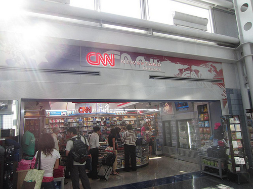 CNN Newsstand Photo