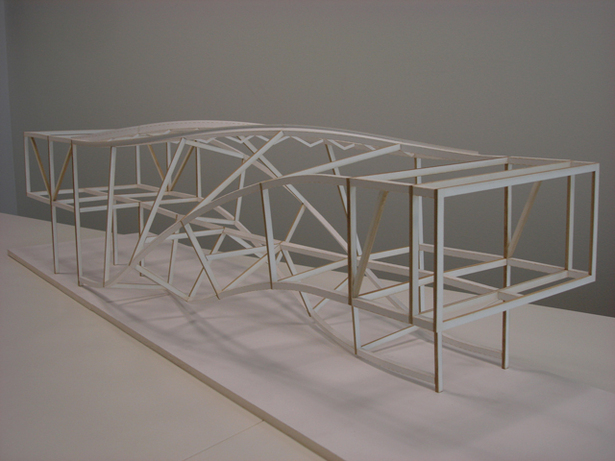 J House - Architectural Model of Structure