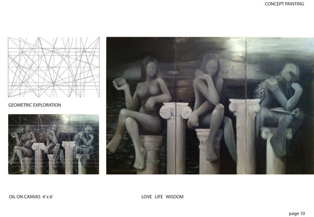 Painting: Love, Life, Wisdom