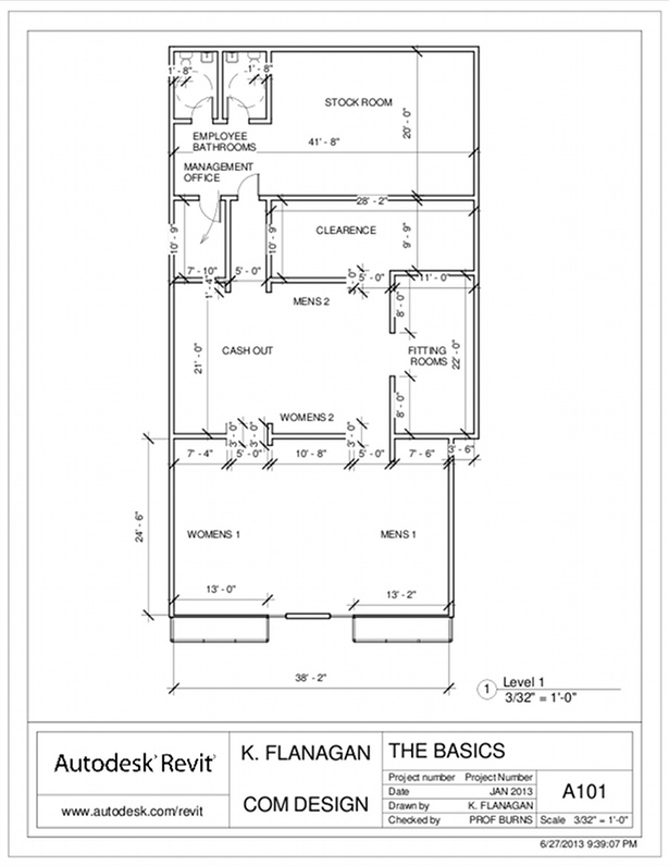 Commercial design retail store design and layout for Clothing store floor plan layout
