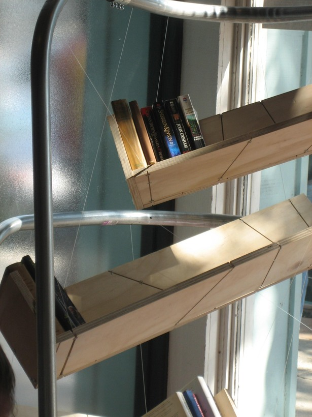 suspended shelves