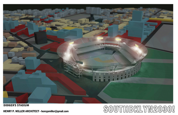 Dodger's Stadium Rendering