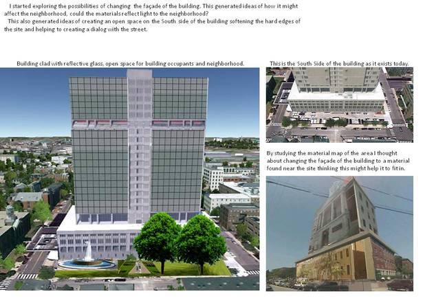 Iteration Building design- AutoCAD, Photoshop