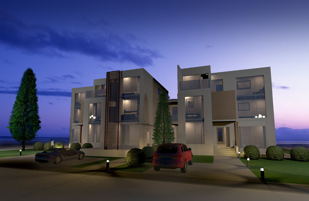 Modeled in Sketch UP rendered in VRAY
