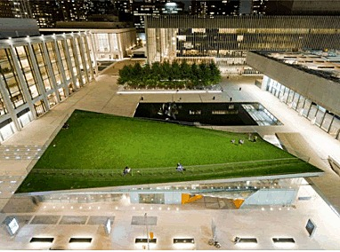 Lincoln Center at Night