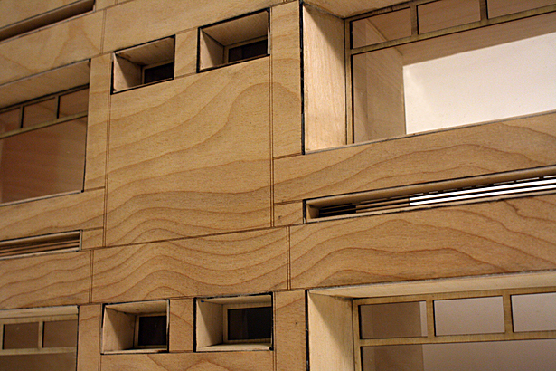 Facade Sectional Model - Detail