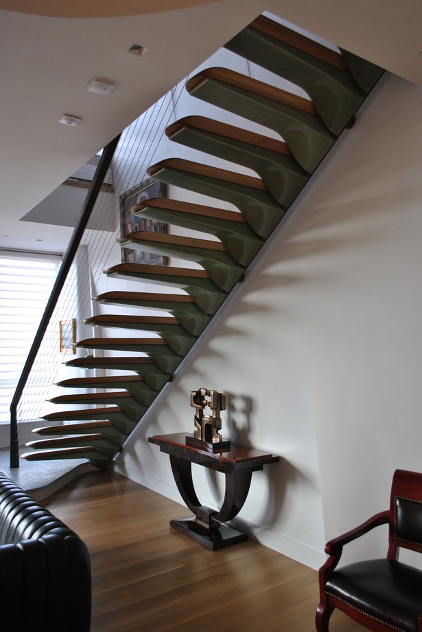Pancu Residence - Signature Stair (Image: Nastasi Architects)